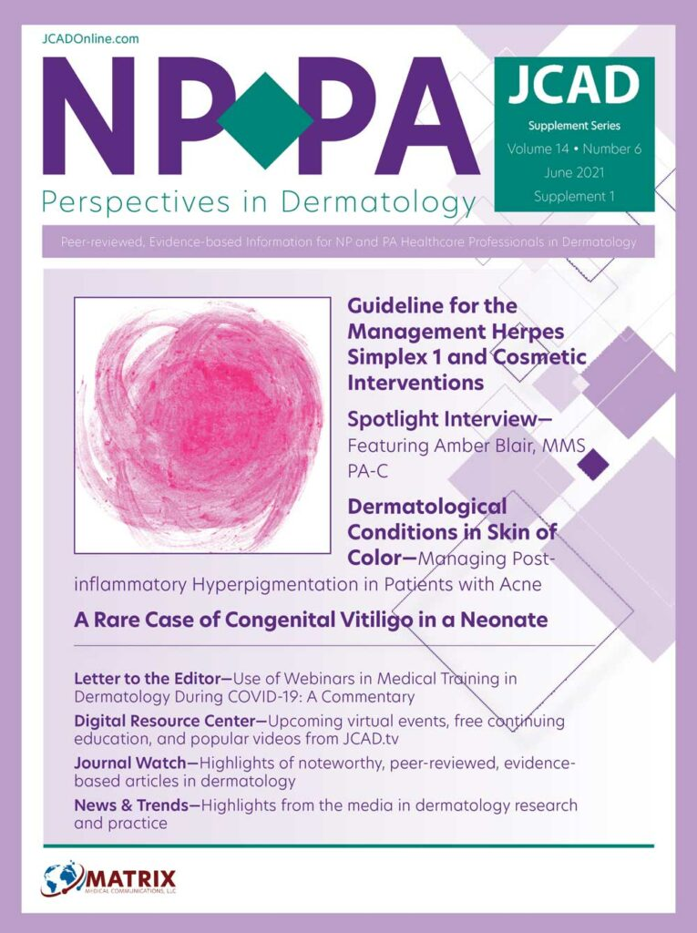 NP+PA Perspectives in Dermatology: June 2021
